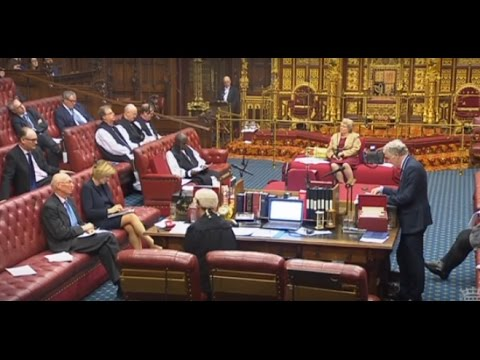2017 03 07 UK HoL Brexit bill 3rd reading LIVE | House Lords Chamber