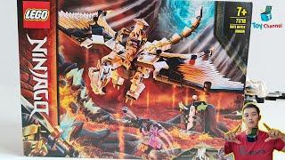 Lắp Ráp Lego Ninjago Season 13 Lego Rồng Thần Sư Phụ Wu Tại Mykingdom Toy Channel