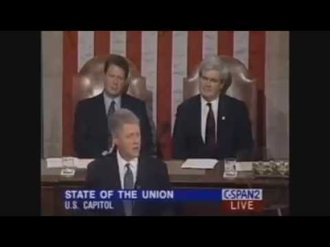 Bill Clinton and Barack Obama on immigration