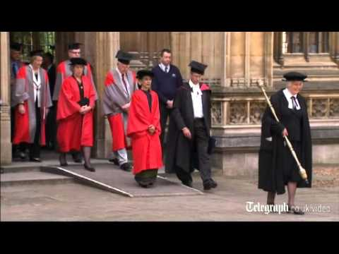 Aung San Suu Kyi honoured by Oxford University with honorary degree