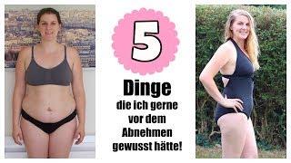 AUSGENUTZT! | 5 DINGE DIE DU WISSEN MUSST | ABNEHMEN MIT SARAH-JANE 💖