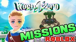 WORLD//ZERO UPDATE CAUSES CHAOS!! *MISSIONS* | Roblox