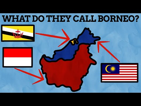 What Do The 3 Nations On Borneo Call the Island?