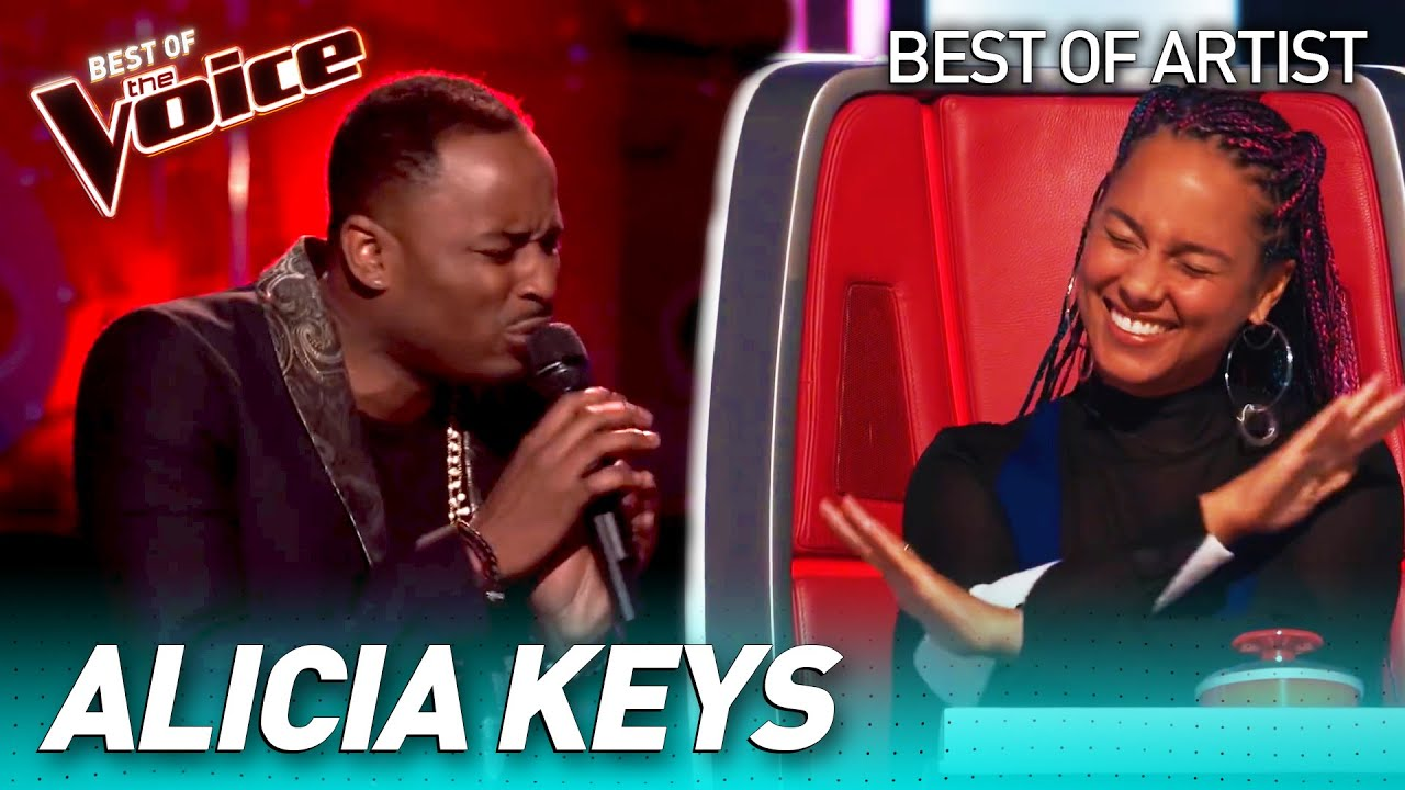 Download Fantastic ALICIA KEYS covers in The Voice
