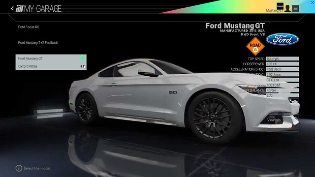 Project CARS - 2015 Ford Mustang GT (Old vs New Car Pack) - YouTube