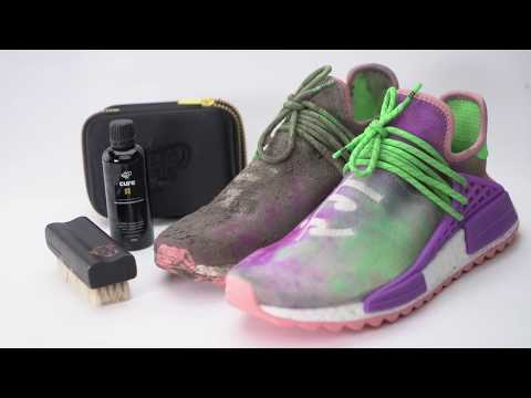 Jumping in mud with adidas Human Race NMD Pharrell 'Holi Festival' - EXTREME CLEAN