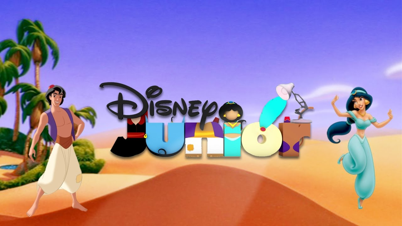 596-Disney Junior With Aladdin Spoof Pixar Lamp Luxo Jr ...