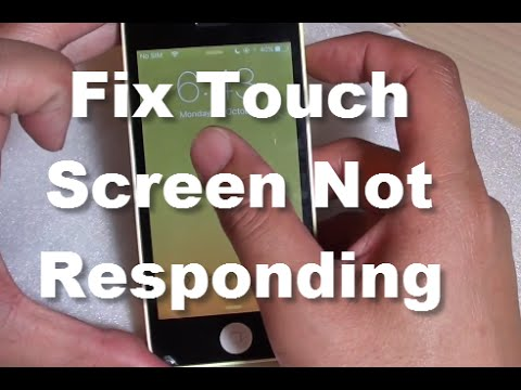 touch screen not working on iphone iphone fix touch screen is not responding properly 19474