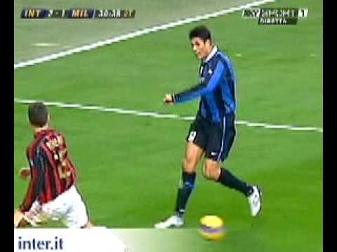 Inter - Milan 2-1 (2-1) Zlatan Ibrahimovic...