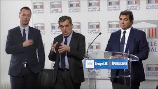 Conférence de presse du Président Christian Jacob du 20/03/2018