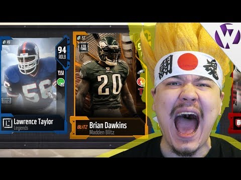 NEW LIMITED TIME BLITZ BRIAN DAWKINS!!! - Madden 18 Legends Fantasy Bundle