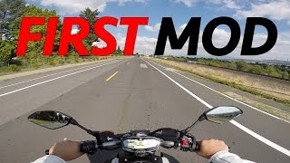 first mod upgrade for the yamaha fz 07 increase safety for only 45