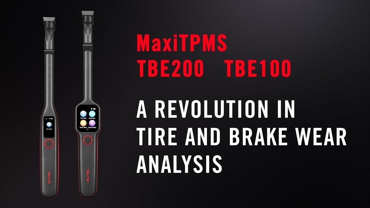 Autel MaxiTPMS TBE200 - Introduction (Intelligent TPMS & Tire Service)