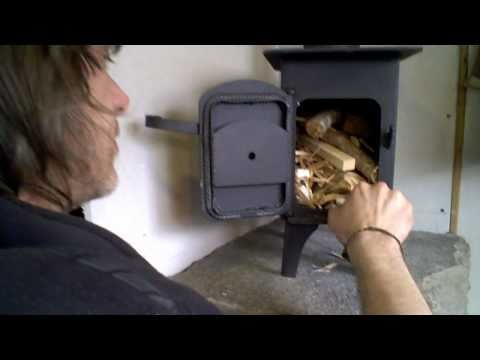 Wood Stove Installation In A Camper Van Youtube