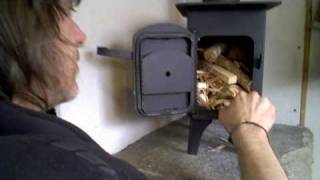 Wood Burner Installation In A Camper Van