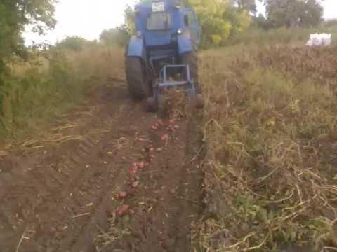 Картофелесажалка на трактор своими руками фото 491