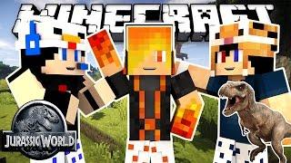 Minecraft: Công Viên Khủng Long #1 - Trở Về Quá Khứ, Ấp Trứng Khủng Long