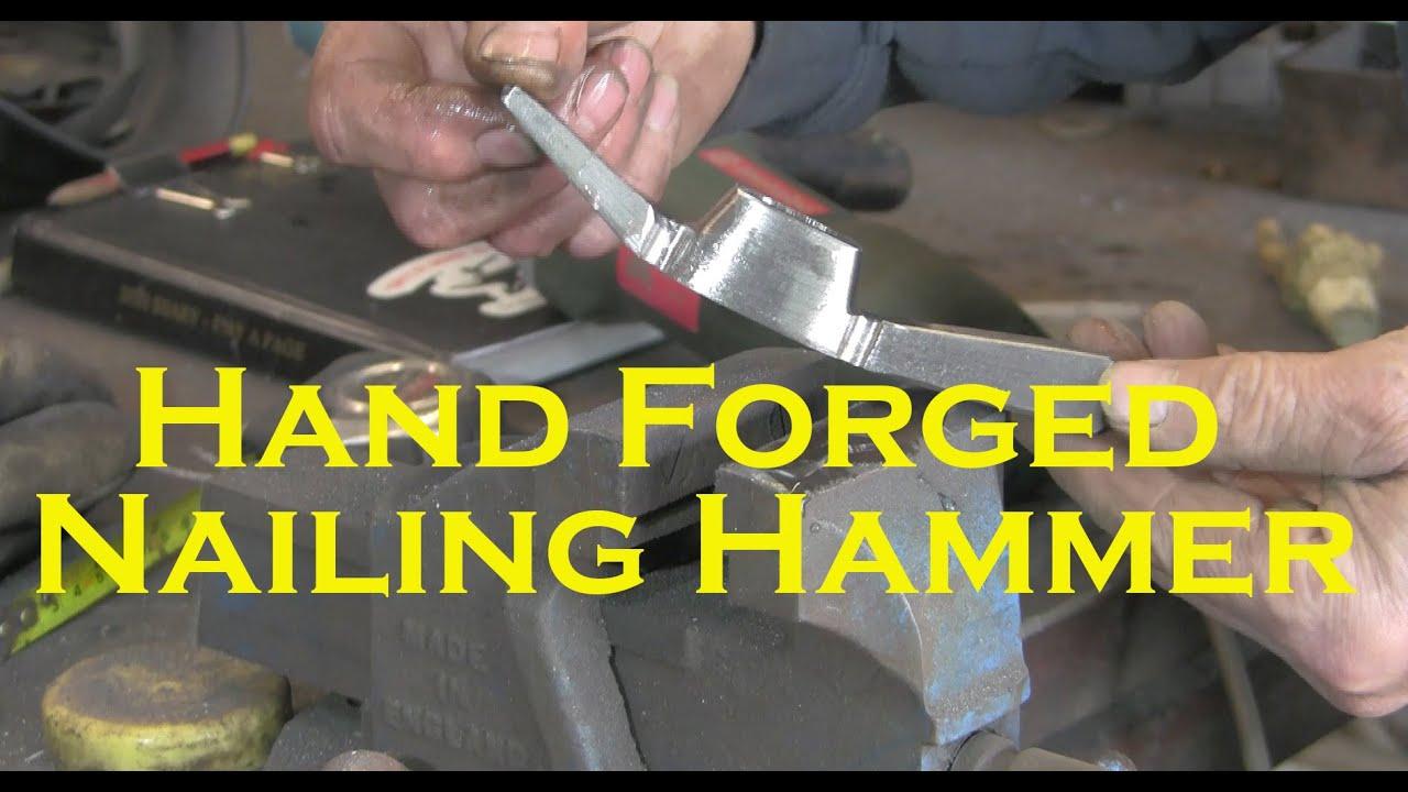 Hand Forged Nailing Hammer