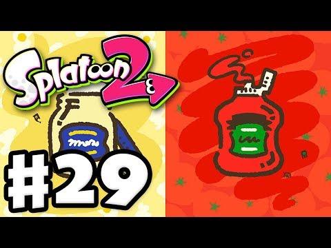 Splatoon 2 - Gameplay Walkthrough Part 29 - Splatfest! Mayo vs. Ketchup! (Nintendo Switch)