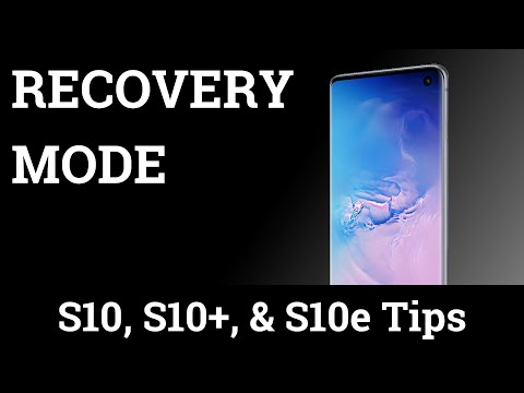 Galaxy S10 Recovery Mode
