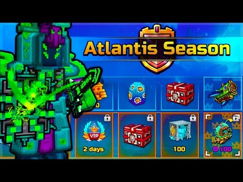 🔱YOU SHOULD BUY THE ATLANTIS BATTLE PASS SEASON!🔱 | Pixel Gun 3D