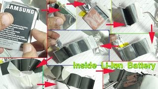 Inside a Li ion battery: Electrode, Electrolyte & Current Protection Circuit