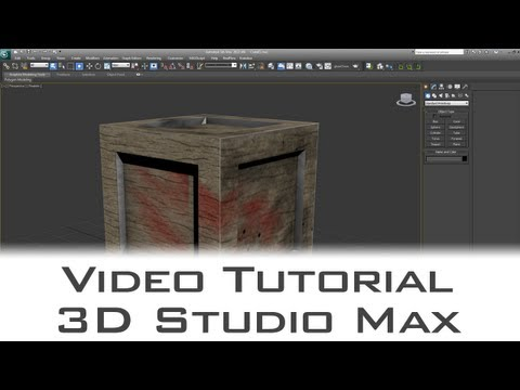Tutorial - Use Photoshop CS6 3D Mode  to Texture 3D Models