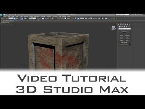 Tutorial - Use Photoshop CS6 3D Mode  To Texture 3D Models
