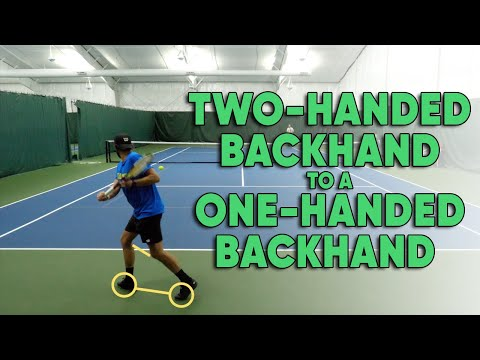 4 Things You Need To Do To Switch From A Two-Handed Backhand to One-Handed Backhand - Tennis Lesson