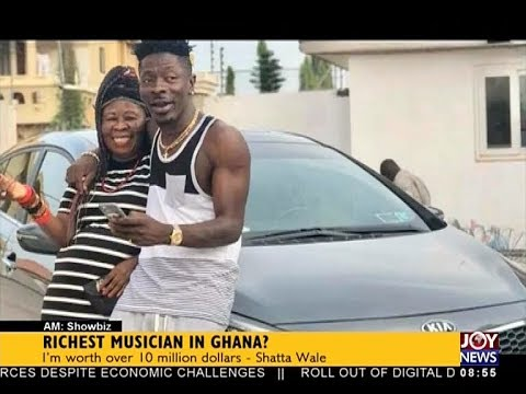 Richest Musician in Ghana? - AM Showbiz on JoyNews (8-11-17)