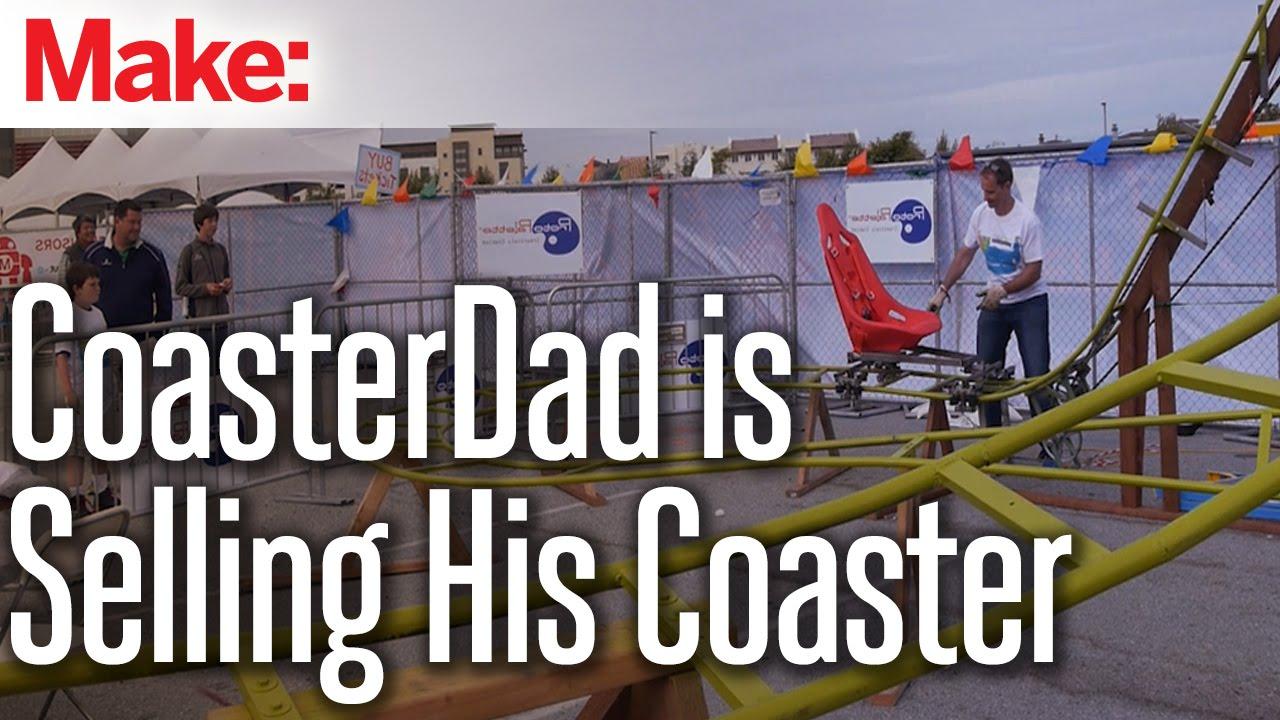 CoasterDad Is Selling His Coaster   YouTube