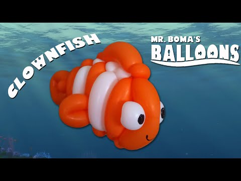 Clown Fish Balloon Animal Tutorial (Balloon Twisting & Modeling #2)