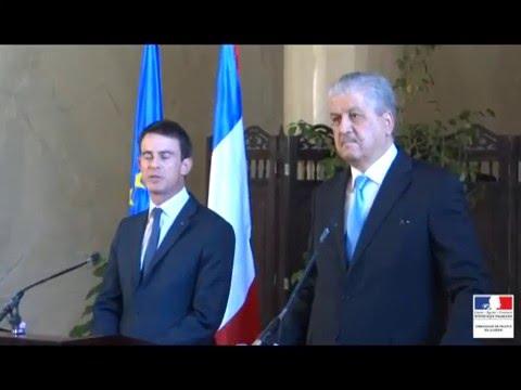 CIHN 2016 : Conférence de presse conjointe des deux Premiers ministres