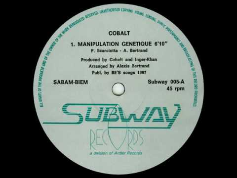 "Cobalt - Manipulation Genetique (12"" version)"