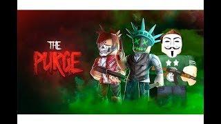 لعبنا فيلم التطهير purge المرعب فى لعبة roblox !!