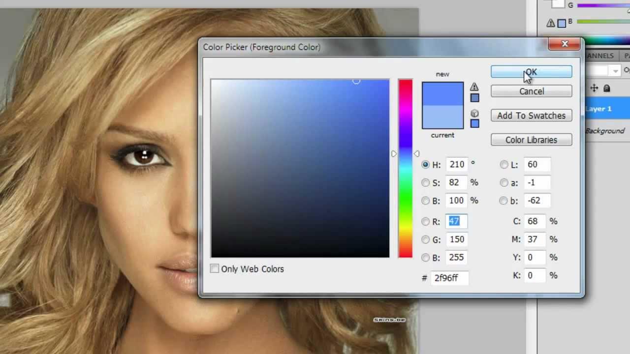 Photoshop cs5 digital make up tutorial | photoshop | pinterest.