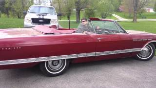 1965 buick electra 225 cobertible red 401