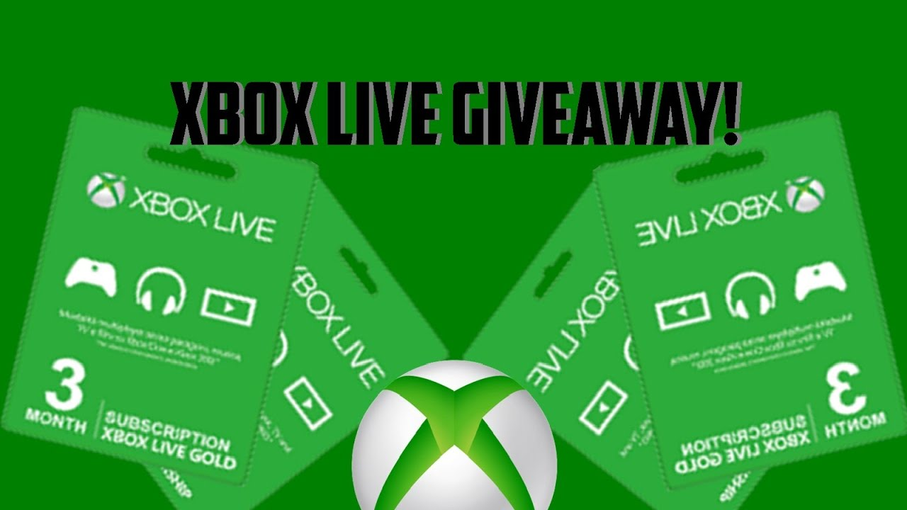 XBOX LIVE GOLD GIVEAWAY 2019