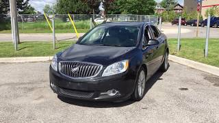 Pre-Owned 2014 Buick Verano FWD Remote Start Backup Camera Black Oshawa ON Stock# 171283A