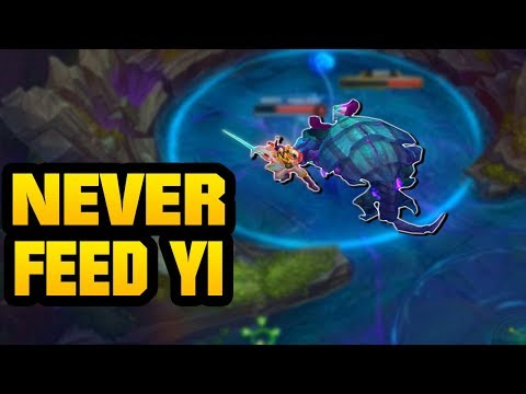 LoL - Road To Gold 7 - Never Feed Yi