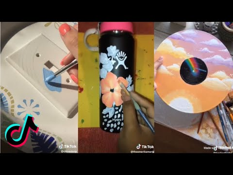 People Painting Things on TikTok for 7 Minutes Straight Part 3 | ToasterStrudel