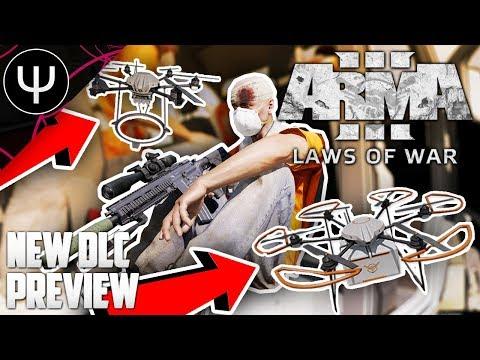 ARMA 3: Laws of War DLC — NEW Laws of War DLC First Look (IT'S GOOD)!
