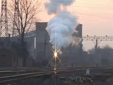 Steam Of Pingdingshan Coal Mine Railway China(Feb.2007) 2 中国・平頂山炭鉱鉄道の蒸気機関車(2007年2月) 2