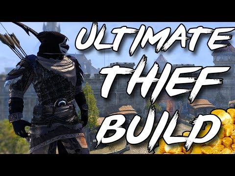 ULTIMATE THIEF BUILD for MAKING GOLD in ESO (Elder Scrolls Online Tips for PC, Xbox One, PS4)