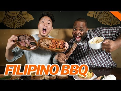 BEST FILIPINO BBQ IN L.A. ft. Daym Drops - Fung Bros Food