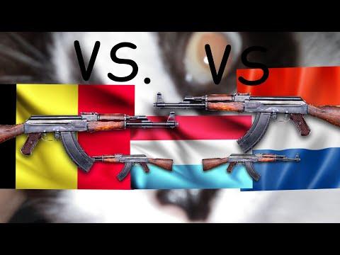 NEDERLANDS VS LUXEMBOURG VS BELGIUM (CAT 2000)