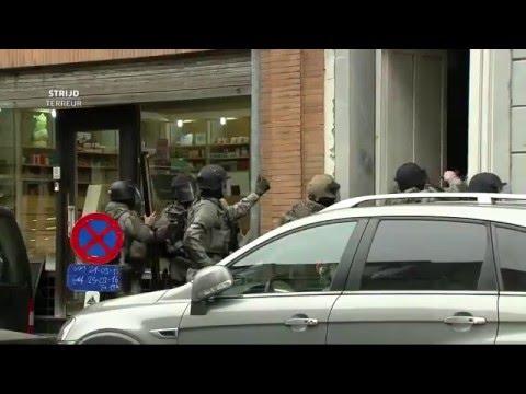 Live start politie inval Molenbeek - VTM NIEUWS weggestuurd