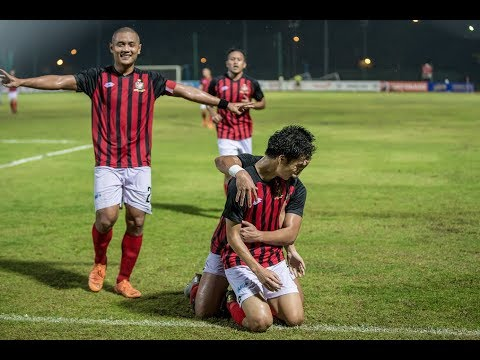 2018 Singapore Cup: Warriors FC 0-3 Brunei DPMM FC