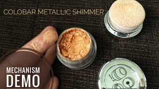 Colorbar Metallics Body Shimmer Shimmer Powder Honest detailed review Mechanism amp Demo