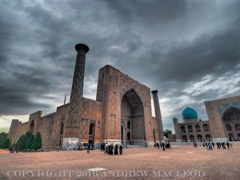 108 Uzbekistan. Be spell-bound by Samarkand!
